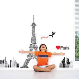 Wall Stickers TC Eiffel Tower