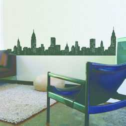 Wall Decals Feel At Home Living in the city - 39147