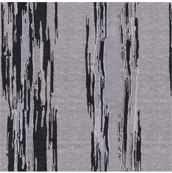 Tiara Abstract Curtain Fabric - 35, black, fabric
