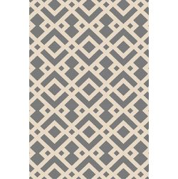 Floor Carpet and Rugs Hand Tufted, AC Concept Geometric Grey Carpets Online - ACR (11) -L, grey, 3ftx5ft