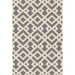 Floor Carpet and Rugs Hand Tufted, AC Concept Geometric Grey Carpets Online - ACR (11) -L, 3ftx5ft, grey