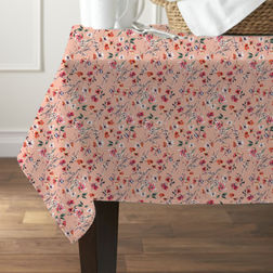 Cotton Table Cover TC 8, multi
