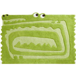 Floor Carpet and Rugs Hand Tufted, AC Concept Kids Green Carpets Online - KD-73-L, 3ftx5ft, green
