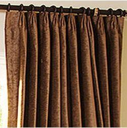 Shiva Solid Readymade Curtain - SJ714, window, gold