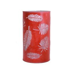 Aasra Decor Palm Tree Leaf Lamp Lighting Table Lamp, orange