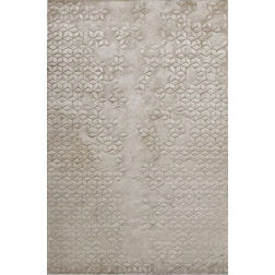 Floor Carpet and Rugs Hand Tufted, AC Concept Geometric White Carpets Online -B2-27-L, 3ftx5ft, white