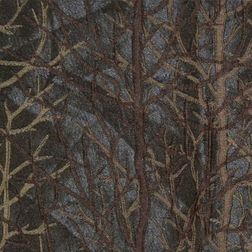 Roseberry Abstract Curtain Fabric - 34, black, fabric