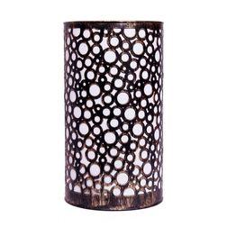 Aasra Decor Black Circles Lamp Lighting Table Lamp, gold