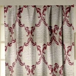 Emporio Classic Readymade Curtain - 706, long door, grey