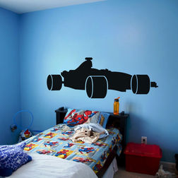 Kakshyaachitra Honda Race Car Wall Stickers For Kids Room, 65 24 inches