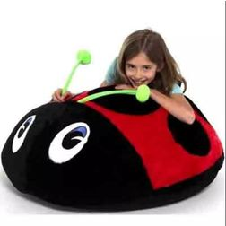 Lady bug Bean Bag Cover -MGB1155, black