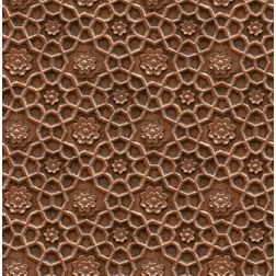 Elementto Floral Design Modern 3D Wallpaper for Walls - td30101, brown