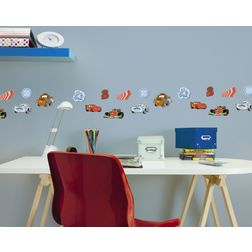 Children Wall Stickers Decofun Cars 24 Mini Foam Elements - 23863