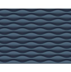 Elementto Wave Design Modern 3D Wallpaper for Walls - td31700, blue