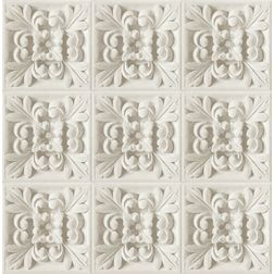 Elementto Traditional Floral Design Modern 3D Wallpaper for Walls - td31600, beige