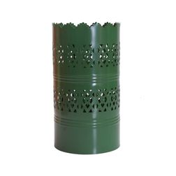 Aasra Decor Vertical Cutwork Lamp Lighting Table Lamp, green