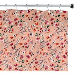 Shower Curtain, peach