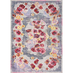 Floor Carpet and Rugs Hand Tufted, The Rug Concept Multi Carpets Online Tbilisi 6028-M, multi, 3ft x 5ft