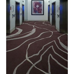 Floor Carpet and Rugs Hand Tufted AC Concept Abstract Brown Carpets Online - CRD-27-L, 3ftx5ft, brown