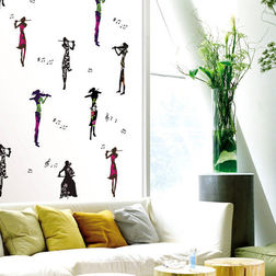 Wall Decals TC Musical Girl