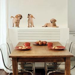 Children Wall Sticker Home Decor Line Puppies - 54252
