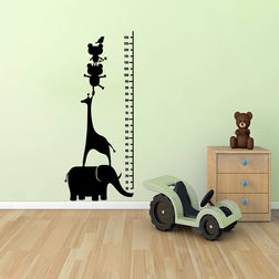 Kakshyaachitra Growth Scale Kids Wall Stickers, 48 118 inches
