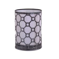 Aasra Decor Octagon Night Lamp Lighting Night Lamps, silver