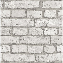 Elementto Wallpapers Brick Design Home Wallpaper For Walls, grey