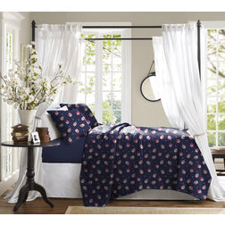 Bed in a bag BB33, double, navy blue