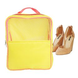 Gym (Travel) Shoe Bag,  yellow