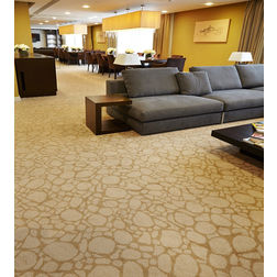 Floor Carpet and Rugs Hand Tufted AC Concept Abstract Yellow Carpets Online - CRD-41-L, 3ftx5ft, yellow