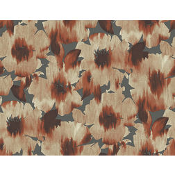 Elementto Wallpapers Floral Design Home Wallpaper For Walls cr60609-2, orange