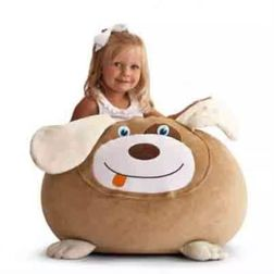 Crazy Dog Bean Bag Cover -MGB1154, beige