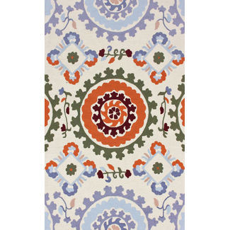 Floor Carpet and Rugs Hand Tufted, The Rug Concept Multi Carpets Online Tbilisi 6090-S, multi, 3ft x 5ft