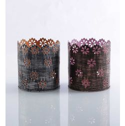 Aasra Decor Square Star Candle Votive DecorVotives, multicolour
