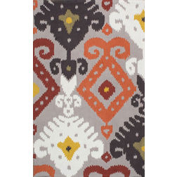 Floor Carpet and Rugs Hand Tufted, The Rug Concept Multi Carpets Online Tbilisi 6086-M, multi, 3ft x 5ft
