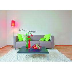Wall Stickers Home Decor Line Happiness - 62012