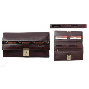 Travel wallet (PH024BRNL) (21x12.3x3 cm)