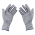 Italish 1 Pair Cut Resistant Gloves Food Grade Level 5 Protection Working Cutting Leather Safety Gloves (2)