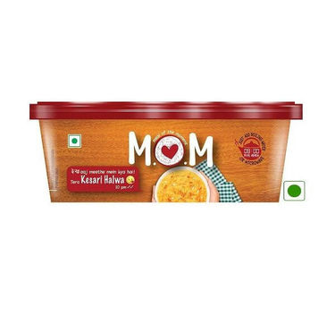 Kesari Halwa (Serves 1) 70g, Ready to eat meal, MOM Meal of the Moment