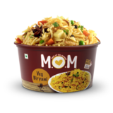 Veg Biryani (Serves 1) 73g, Ready to eat meal, MOM Meal of the Moment