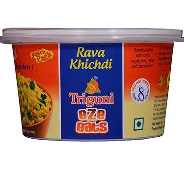 Rava Khichdi (Serves 1) 47g, Triguni Eze Eats, Ready to eat