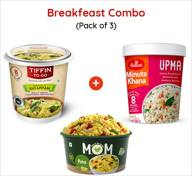 Breakfast Combo Ready to Eat (Serves 3) 245g
