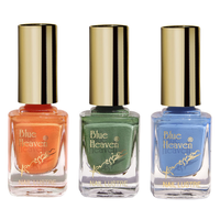 Blue Heaven Combo Of 3 Xpression Nail Paint, 27 ml
