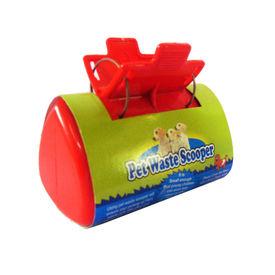 Lal Pet Super Clean Grip n Grab Waste Scooper, red