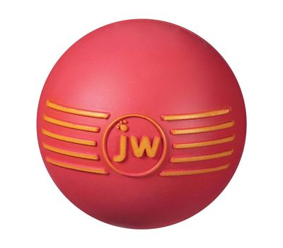 JW Pet USA iSqueak Ball for Medium to Large Dogs, blue