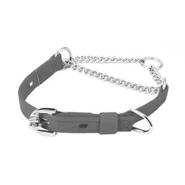 Kennel Furlon Choke Thin Chain Collar, 16 inch, black