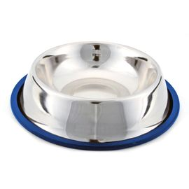 Kennel Non Topple Steel Feeding Bowl, 25 cms, assorted