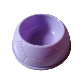 Imported Plastic Small Pet Feeding Bowl, purple