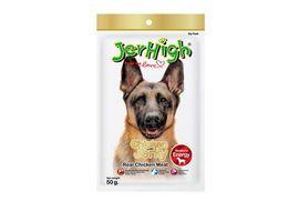 JerHigh Chicken Jerky Real Chicken Meat Dog Treat, 50 gms